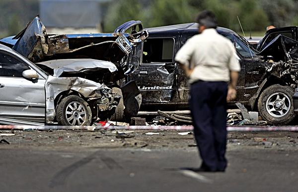 AP I ARG Argentina Car Crash
