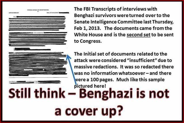 Benghazi Cover Up