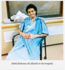 Abdul Rahman in the Hospital