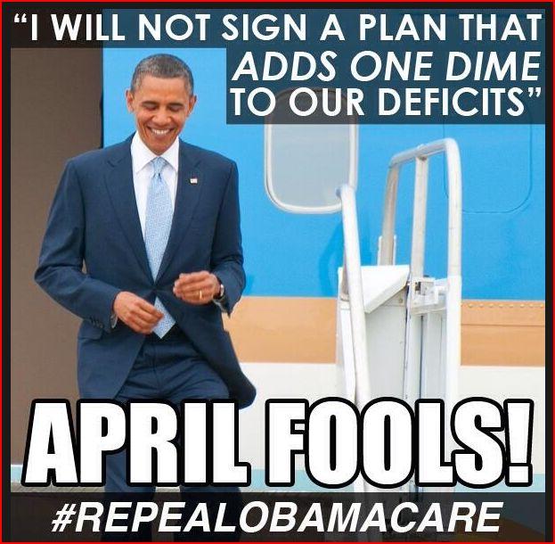 Obama April Fools