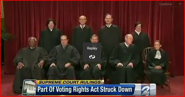 Supreme Voting Rights Act