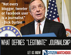Dick Durbin CitizenWatchdog