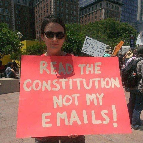 Read Constitution Not Emails