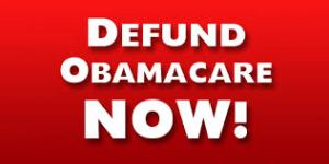 Defund Obalacare Now