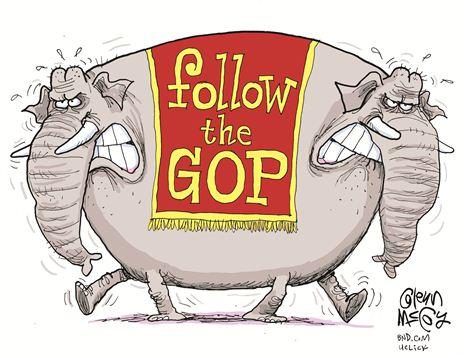 Follow the GOP