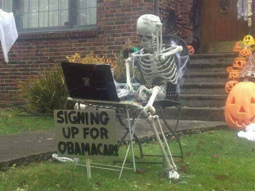 Obamacare Skeleton