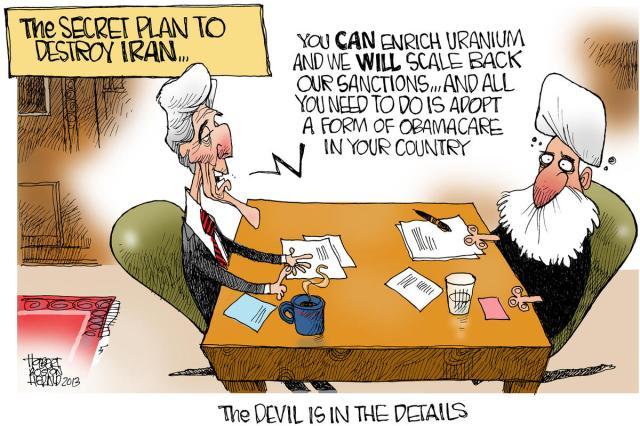 Secret Plan to Destroy Iran