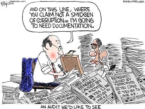 Smidgen Corruption Audit