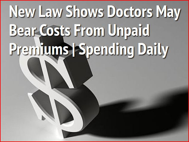 Doctors May Bear Costs