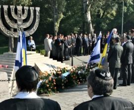 Ukraine remembers Babi Yar massacre