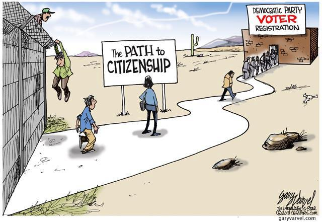 Path to Democraric Voter