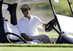 Obama Golf Foley