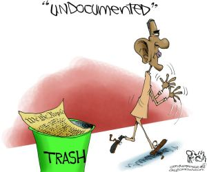 Undocumented Trash