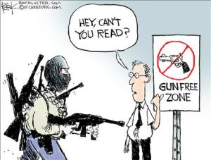 Gun Free Cant your read
